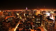 New York City, Manhattan - time lapse