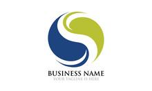 Eco Yin Yang Logo