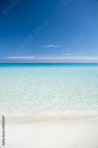 Foto op Plexiglas Caraïben Classic Turquoise Caribbean View in Varadero Cuba