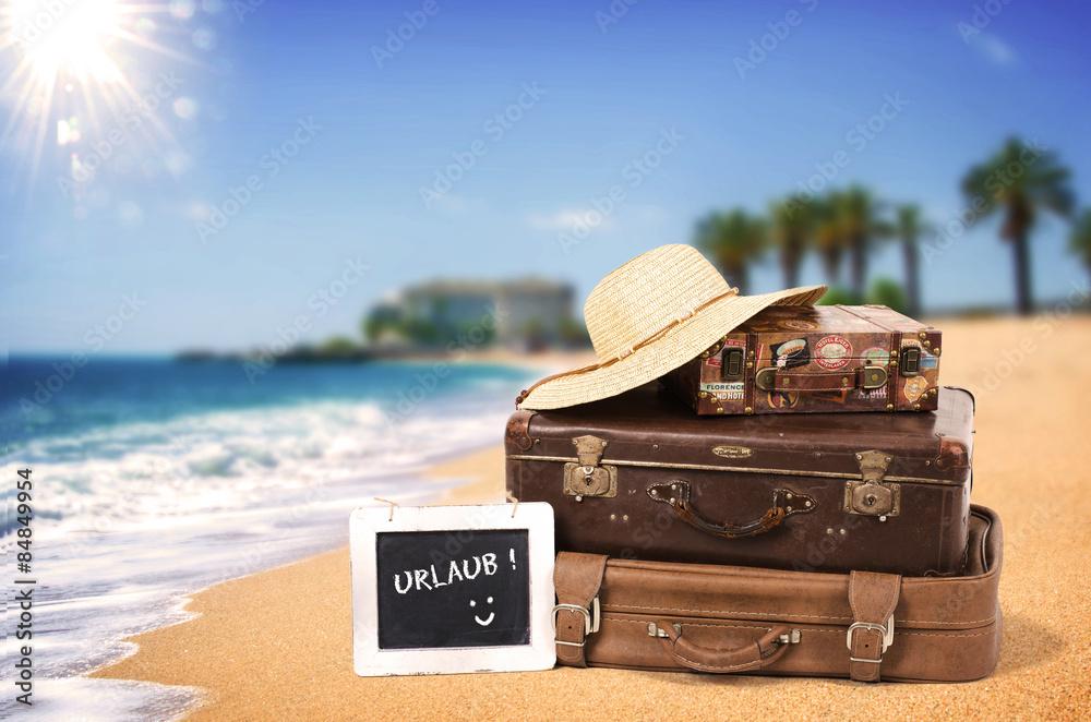 Fotografering  Urlaubsreise