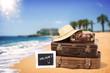 Leinwandbild Motiv Urlaubsreise