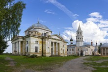 Boris And Gleb's Cathedral In Borisoglebsky Monastery, Torzhok, Tver Region
