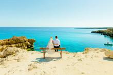 Maxim And Julia Wedding Photo Shoot At Sea