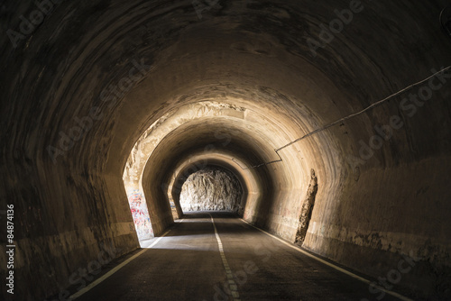 Old tunnel in Spain