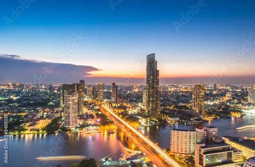 Photo Stands Bangkok Bangkok view for Sa thorn unique tower