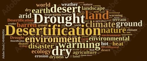 Fototapety, obrazy: Desertification.