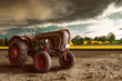 canvas print picture - Vintage Tractor
