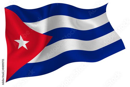 Photo キューバ  国旗 旗