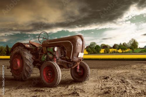 Vintage ciągnik