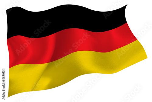 Fotografie, Obraz  ドイツ  国旗 旗