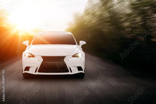 фотография  Car Speed Road Sun