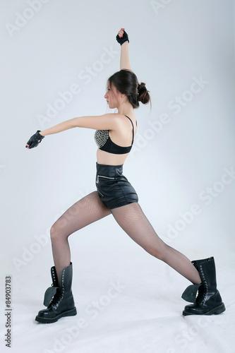 Sexy female go go dancer Poster