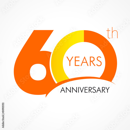 Photographie  60 years anniversary logo