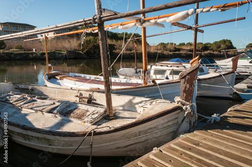 Photo Stands Ship Llauts típicos de Mallorca