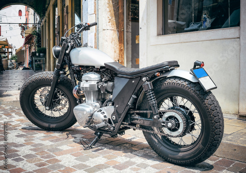 Foto op Canvas Scooter Motorcycle - cafe racer