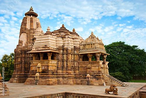 Foto op Canvas Florence Devi Jagdambi Temple, Western Temples of Khajuraho, India