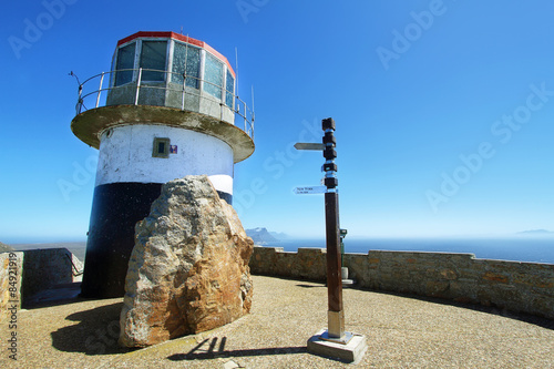 Fotografering  lighthouse Cape point