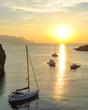 Abendsonne über Panarea