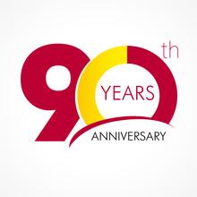 90 Years Anniversary Logo