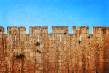 Defensive Wall Of The Ancient ...