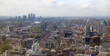 LONDON, UK - APRIL 22, 2015: London panorama with Canary Wharf view on the background