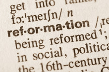 Dictionary Definition Of Word Reformation