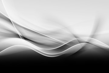 Black White Design Abstract