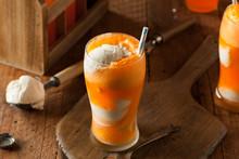 Orange Soda Creamsicle Ice Cream Float