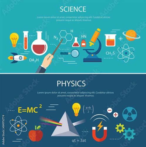 Valokuva science and physics education concept