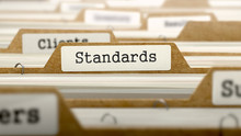 Standards Concept With Word On...