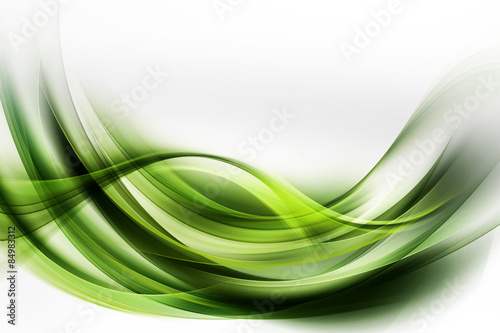 Beautiful Modern Green Abstract Background