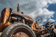 Rusty Tractor