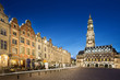 The heroes place in Arras, France