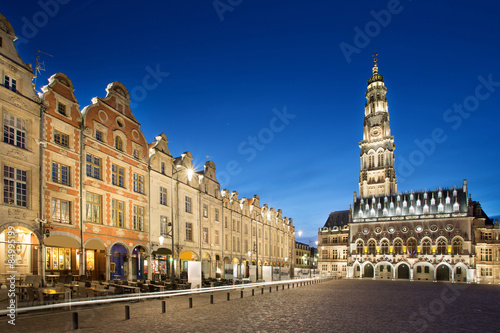 The heroes place in Arras, France Fototapete