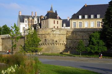 Fototapeta na wymiar château Anne de Bretagne