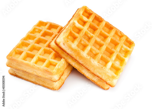Fotomural  two soft waffles