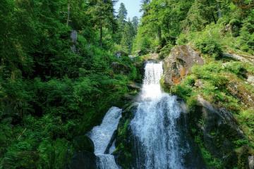 Der Wasserfall in Triberg im Schwarzwald - 5