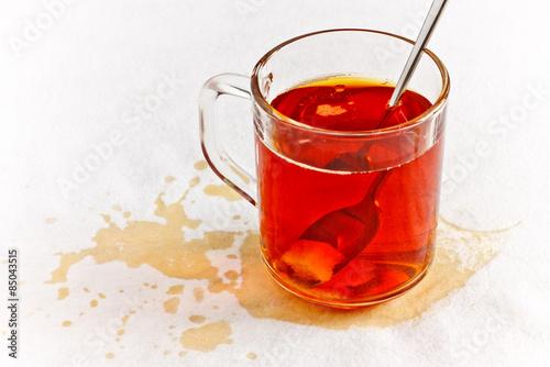 Fotografie, Obraz  Spilled Tea