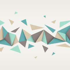 Illustration of abstract texture with triangles.