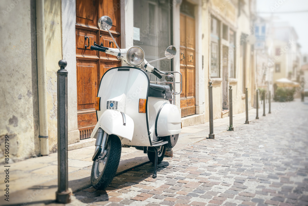 Fototapety, obrazy: Vespa, włoski skuter
