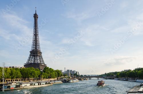Foto op Aluminium Parijs Visite de Paris