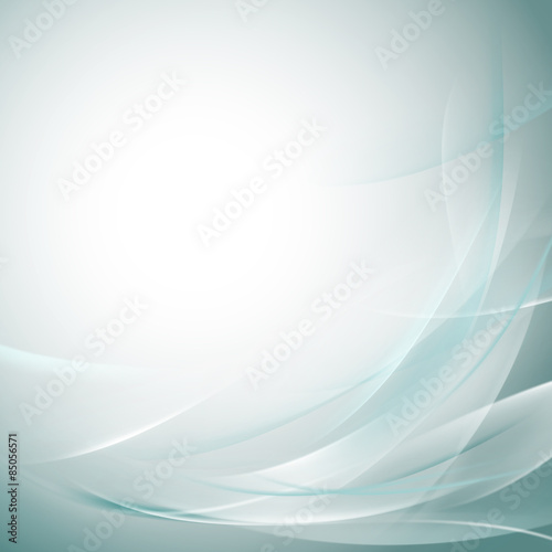 Fototapety, obrazy: Abstract smooth bright flow background for nature  tech