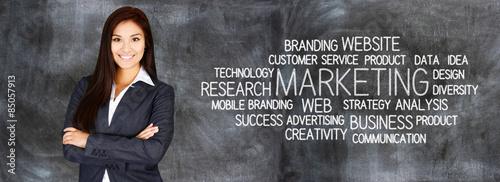Fotografie, Obraz  Business Marketing