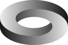 Moebius Ring Optische Täuschung