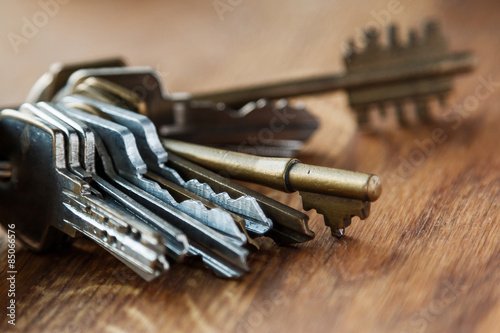 Bunch of different keys