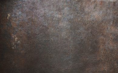 old rusty metal background or texture