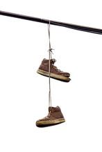 Shoe Tossing, Old Sneakers Han...