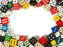 Dice With Copy Space