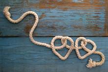 Leash  Rope Into Heart Shape O...