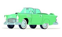 Caricatura Ford  Thunderbird C...